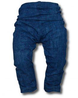 legginsy a'la jeans granatowy