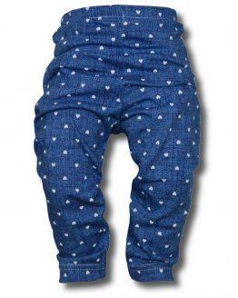 legginsy 80 86 jeans w serca