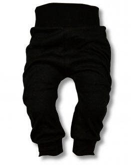spodnie bezuciskowe czarne