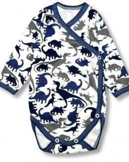 body kopertowe dla chłopca dinozaury