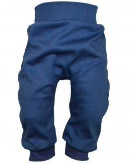 ciemnoniebieskie spodnie bawełniane