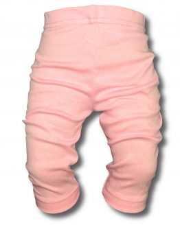 jasnoróżowe legginsy 3/4 za kolano
