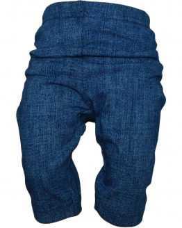 granatowe legginsy 3/4 a'la jeans