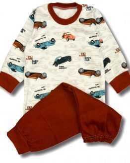 piżamka w auta samochody retro