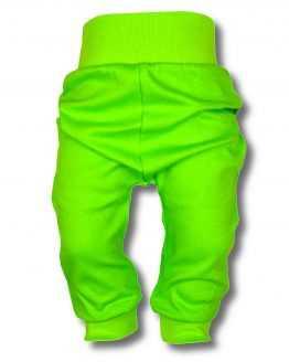 jasnozielone spodnie bawełniane