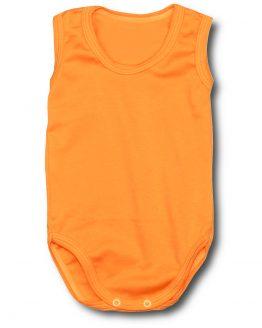 pomarańczowe body na ramiączkach