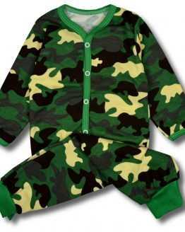 piżama kaftanik +spodenki moro 80 86 92 98 104