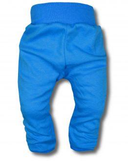 spodnie bezuciskowe niebieskie 80 86 82 98 104 110