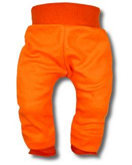 spodnie bezuciekowe pomarańczowe 80 86 92 98 104 110