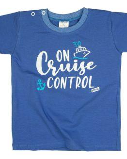 niebieska koszulka t-shirt od mrofi on cruise control