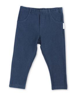 granatowe legginsy z dresówki cieplejsze slim szczupłe